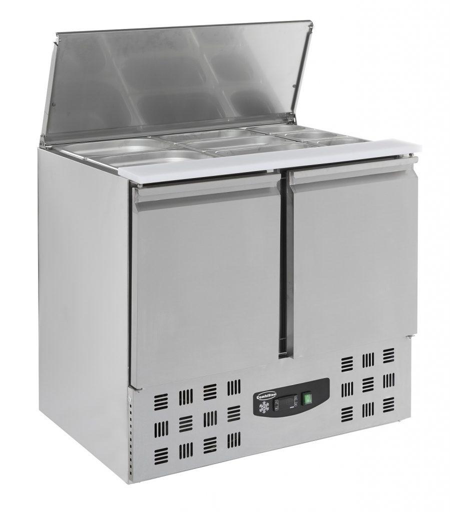 Combisteel SALADETTE 2 DEUREN 2.5×1/1GN PAN CS-7950.0105